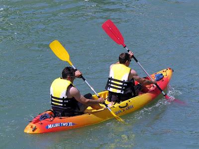 Kayak, Fosso Reale, Livorno
