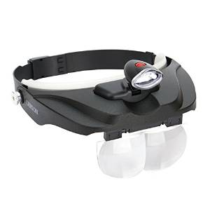 Hobby Magnifier Carson Optical Pro Series MagniVisor Deluxe Head-Worn