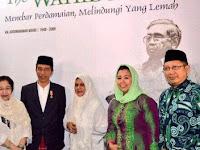 Disinilah, Presiden Jokowi dan Megawati kenang persahabatan dengan Gus Dur