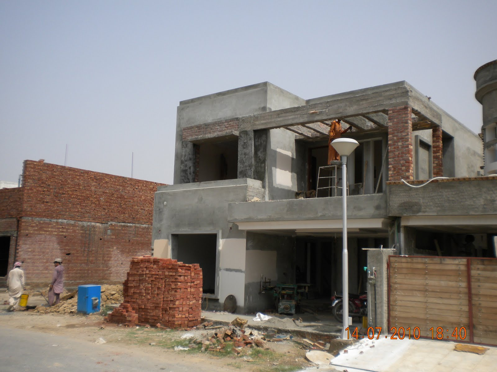 Hussain kaisrani what does gray grey structure mean in Construction cost of 5 marla house
