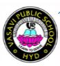 Vasavi Public School Himayatnagar Logo