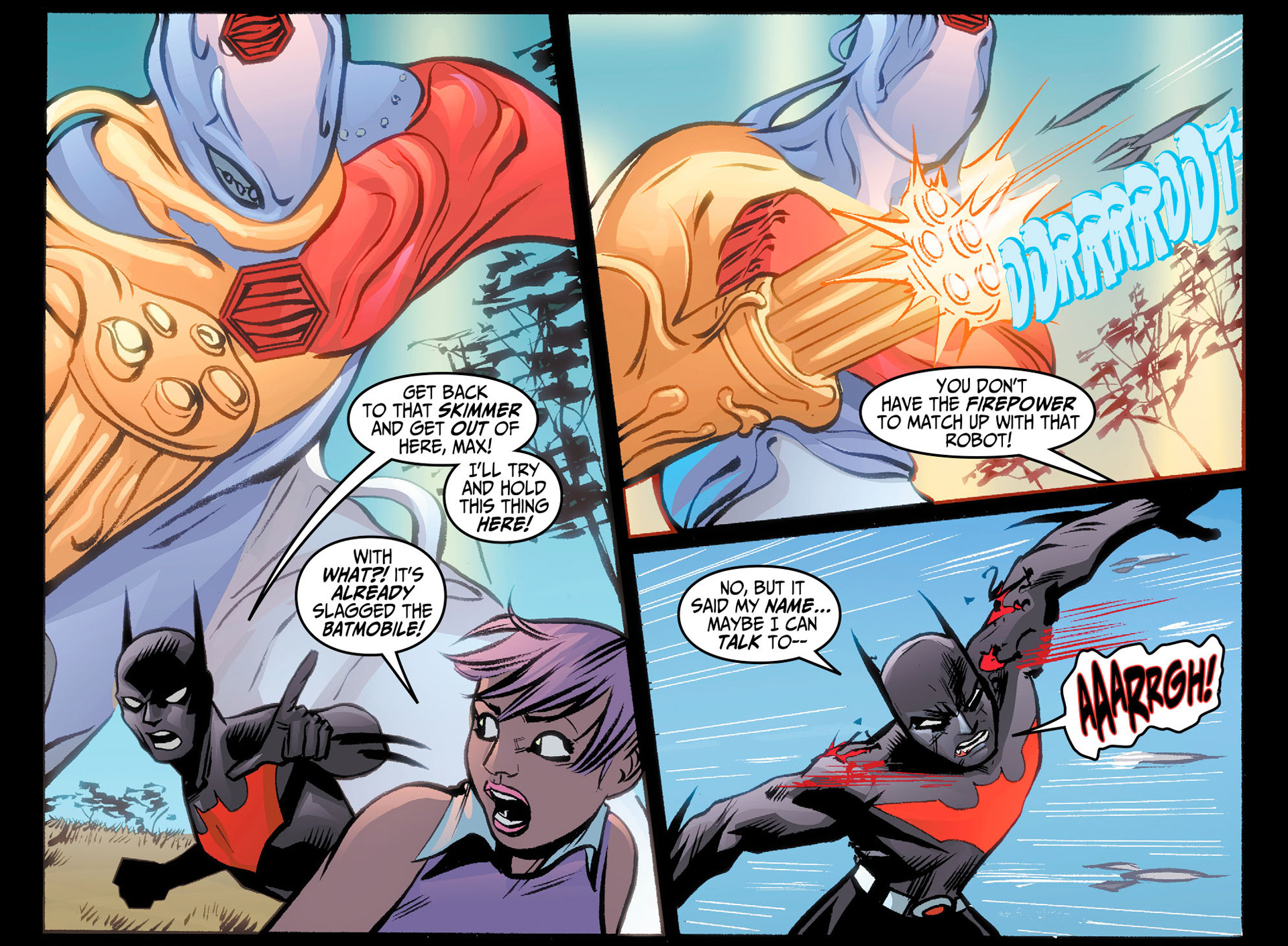Batman Beyond (2012) Issue #24 #24 - English 7