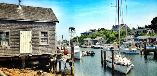 Menemsha site of Jaws in Martha's Vineyard