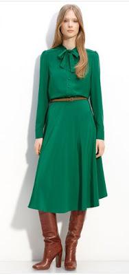 MARC BY MARC JACOBS 'Michaela' Silk Dress