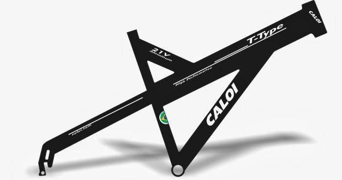 Adesivo De Parede Feminino ~ Stickers Design Adesivo bike Caloi T Type