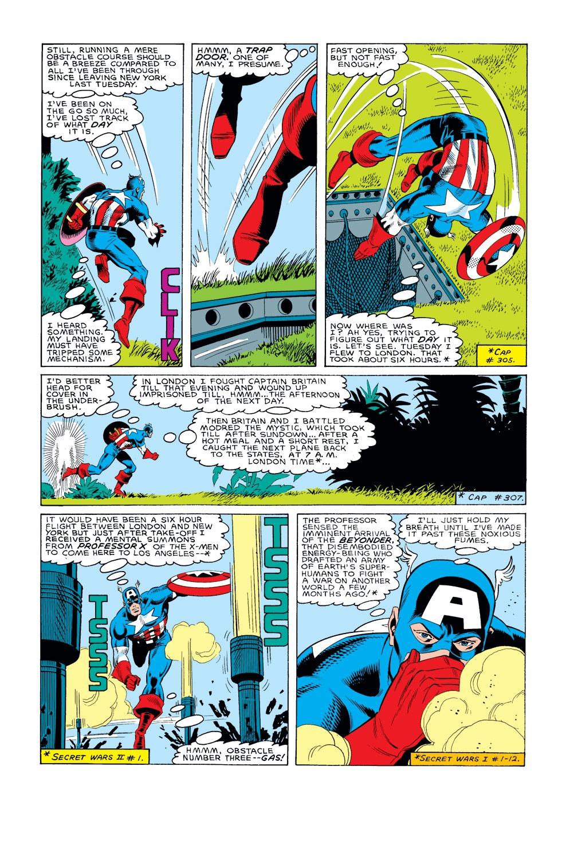 Captain America (1968) Issue #308 #236 - English 3
