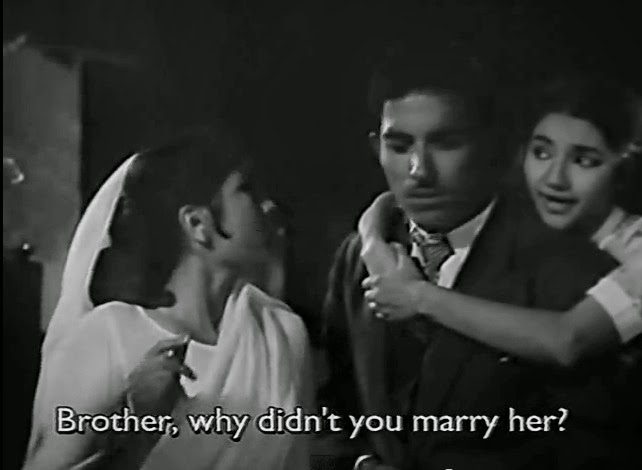 Brother, why didn't you marry her?