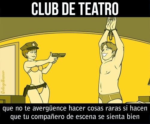 Tecnicas sexuales de los diferentes clubs - club de teatro