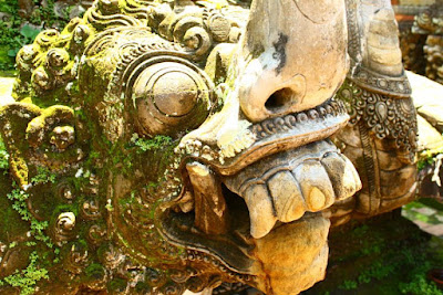 The Statue of Barong in Bali Indonesia