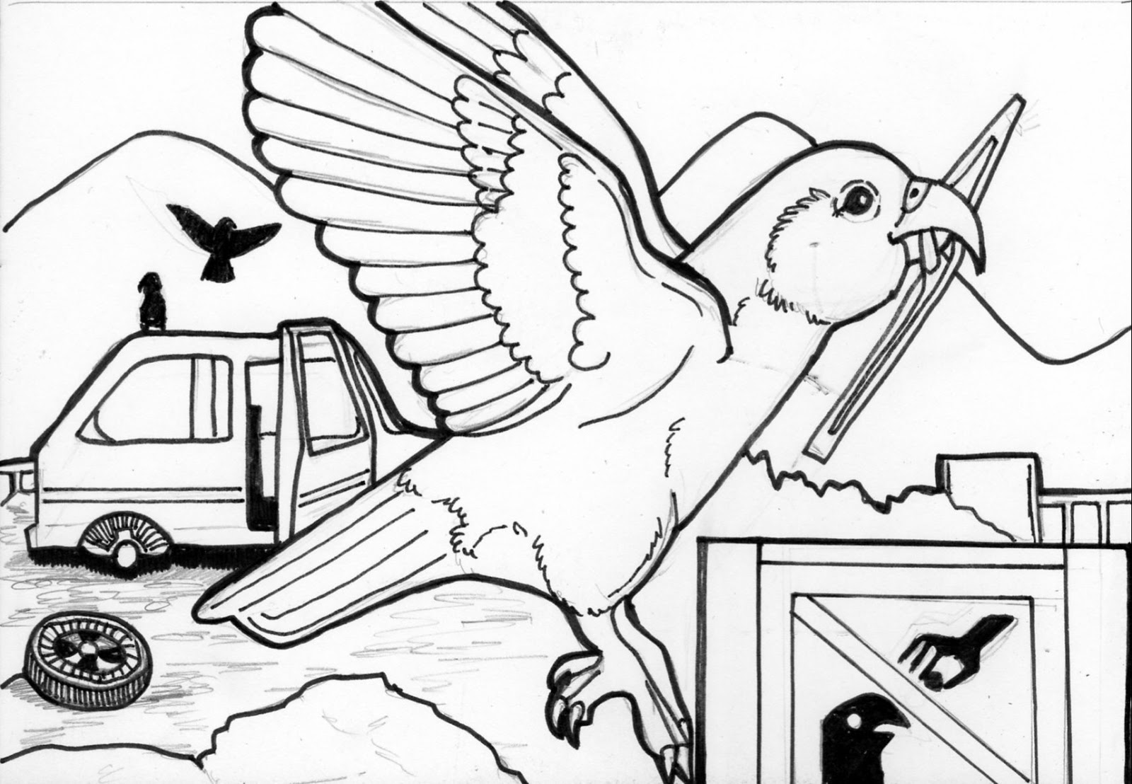 More Colouring Pages Thinking Of Cleaning These Up And Printing Them Out To Take The Market On Saturday Good Way Advertise
