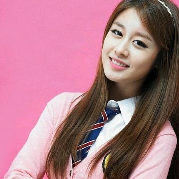Photo Park Jiyeon School Uniform Style