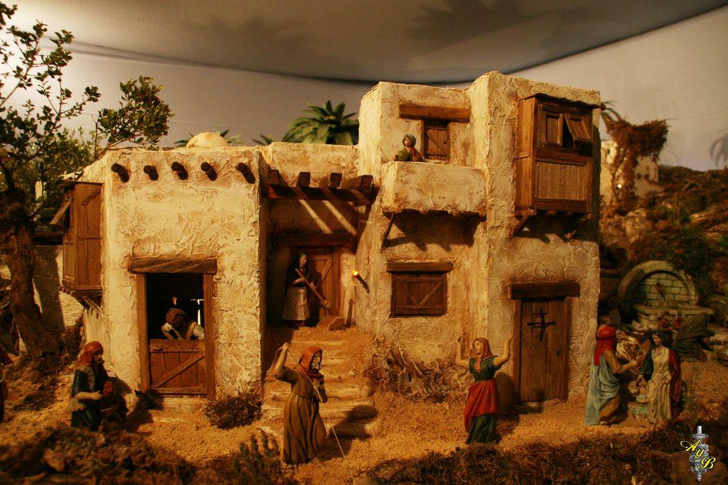 De ac litos y belenistas nuestros belenes manolo casas - Belenes de navidad manualidades ...