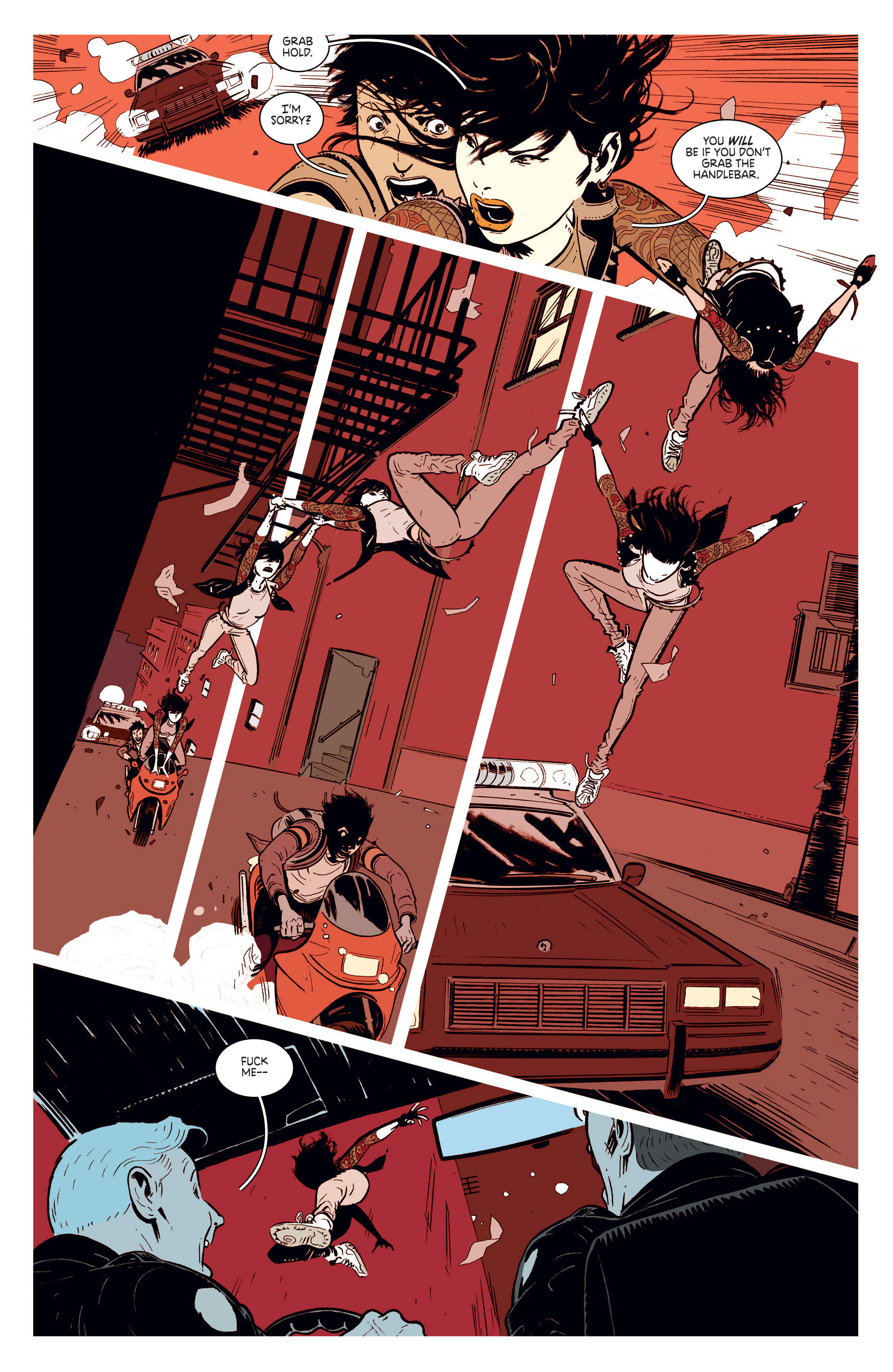 Read online Deadly Class comic -  Issue #1 - 18