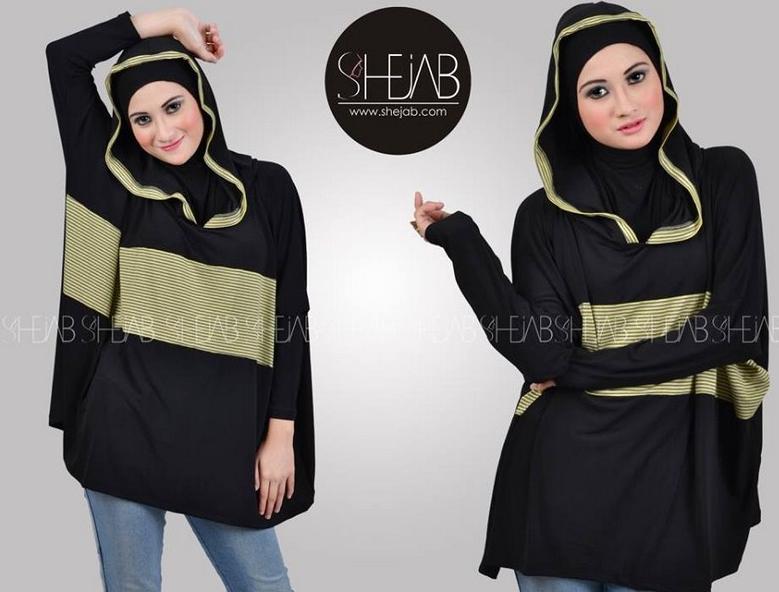 Contoh Baju Hijab Modern Style Trendy 2016