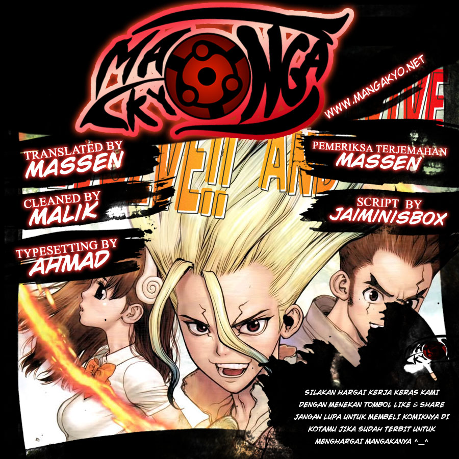 Dr. Stone Chapter 34-0