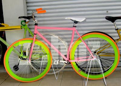 Harga Sepeda Fixie Murah Keren Manis | helmi 154 pbie