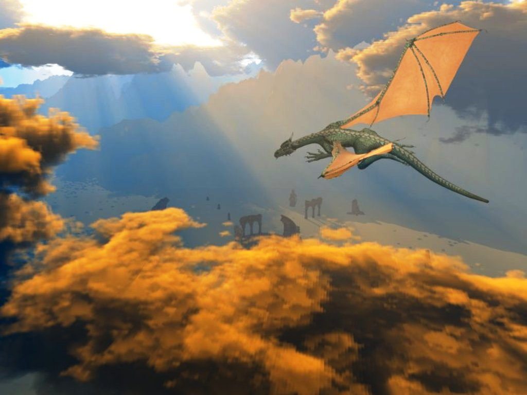 era uma vez um dragão