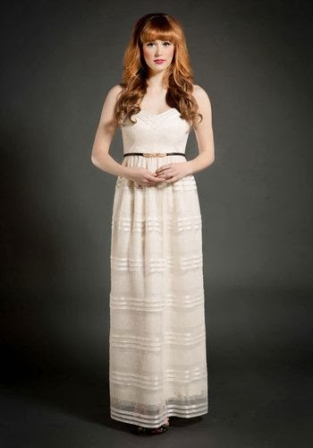 Cream Maxi Dress - See You Swoon - ModCloth