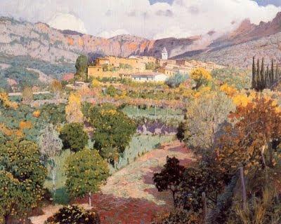 La vall dels tarongers (Santiago Rusiñol)