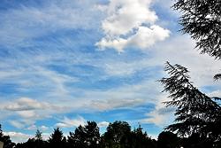 Wolkenaufnahmen...