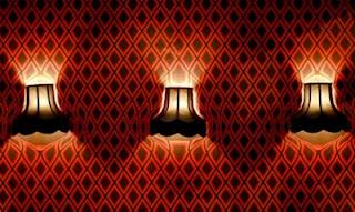 Duvar ışığı optik illüzyonu