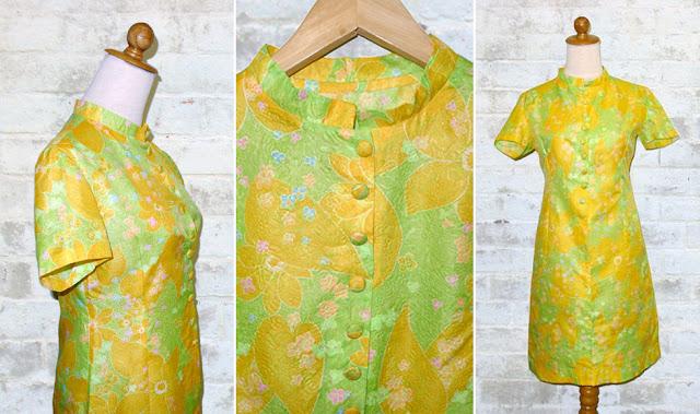 floral paper dress
