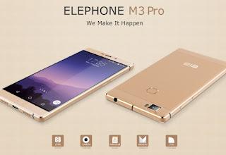 Harga dan Spesifikasi Elephone m3 Pro