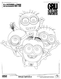 Dibujos de Minions