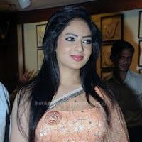 Nikesha patel hot in saree at jewel shop