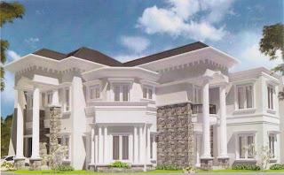 Model Rumah Klasik Modern