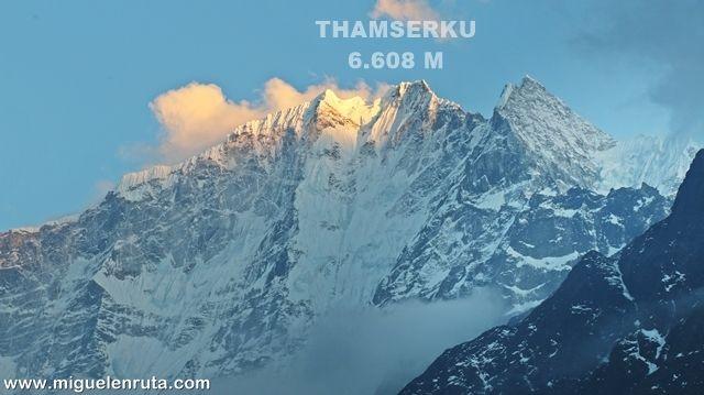 Thamserku-Tengboche