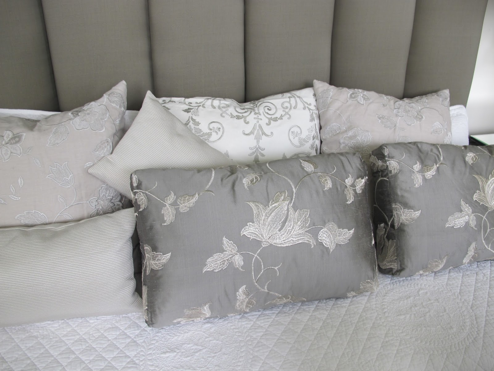 Bed Head Design Custom Cushions