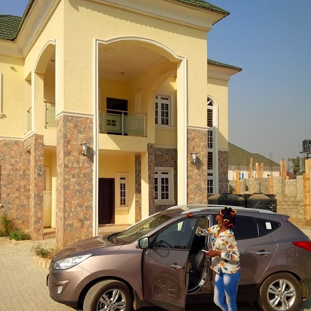 nigerian actress susan peters new house