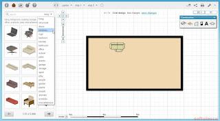 Proiectează-ţi casa online - Floorplanner - categorii obiecte