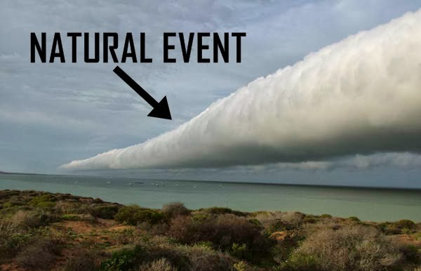 HAARP, Seeded Rolling Cloud Stretches Across Texas Sky