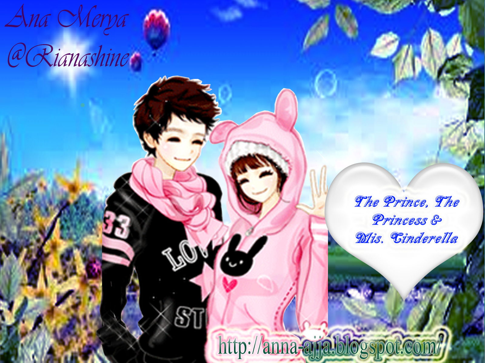 Beranda > Cerpen The Prince, The Princess & Mis. Cinderella~11 {Update