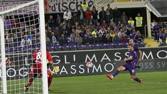 Fiorentina 2 x 0 Bologna - Campeonato Italiano(Calcio) 2015/16