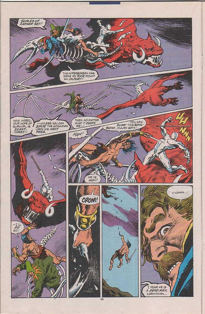 Conan the Barbarian (1970) Issue #258 #270 - English 11