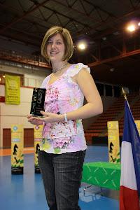 """Margaux Lefevre: Championne de France """"Juniorettes"""" Nîmes 2012"""