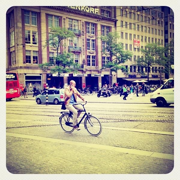 bicis calles de Amsterdam