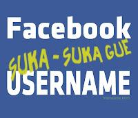 Cara terbaru merubah ID facebook dengan nama sesuka anda