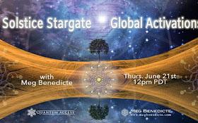 Sonnenwende Sternentor Aktivierungen ~ Meg Benedicte ~ 18. Juni 2018