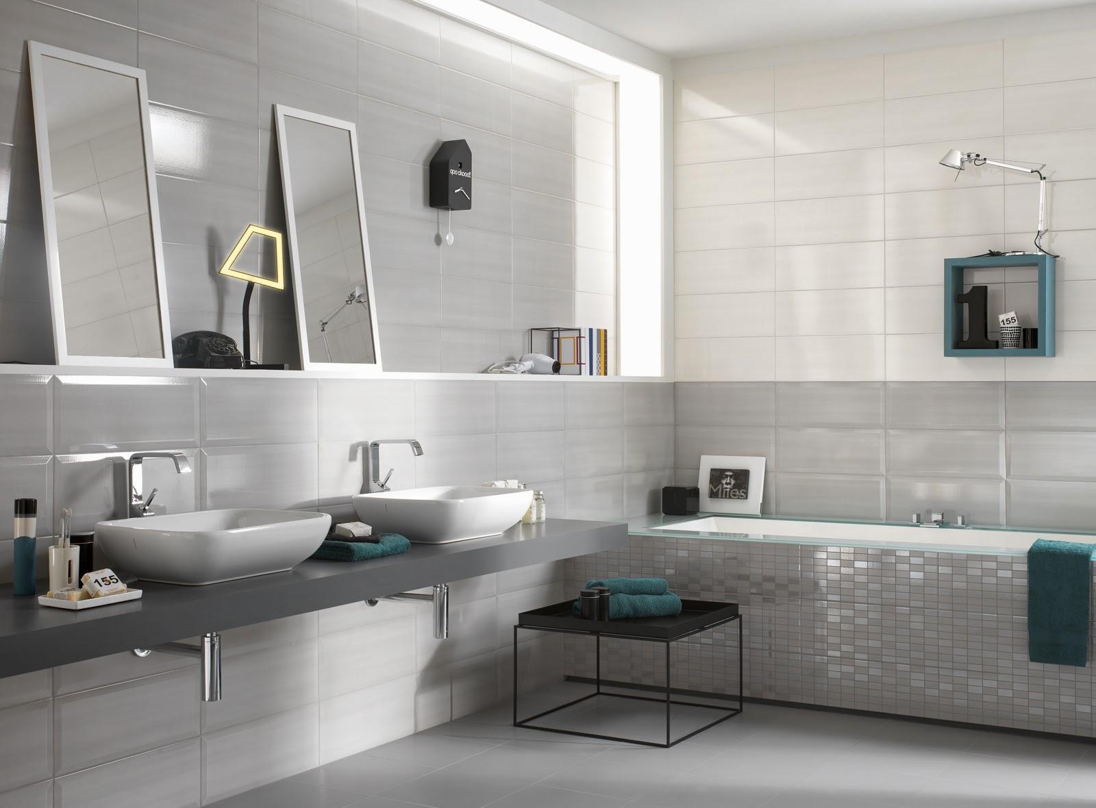 Colore piastrelle bagno latest vi allego anche una foto del