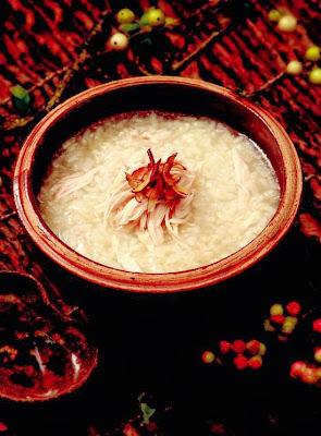 Milk vetch chicken porridge