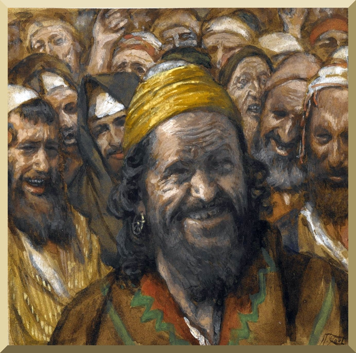 """Barabbas"" -- by James Tissot"