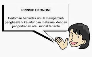 Prinsip Ekonomi adalah