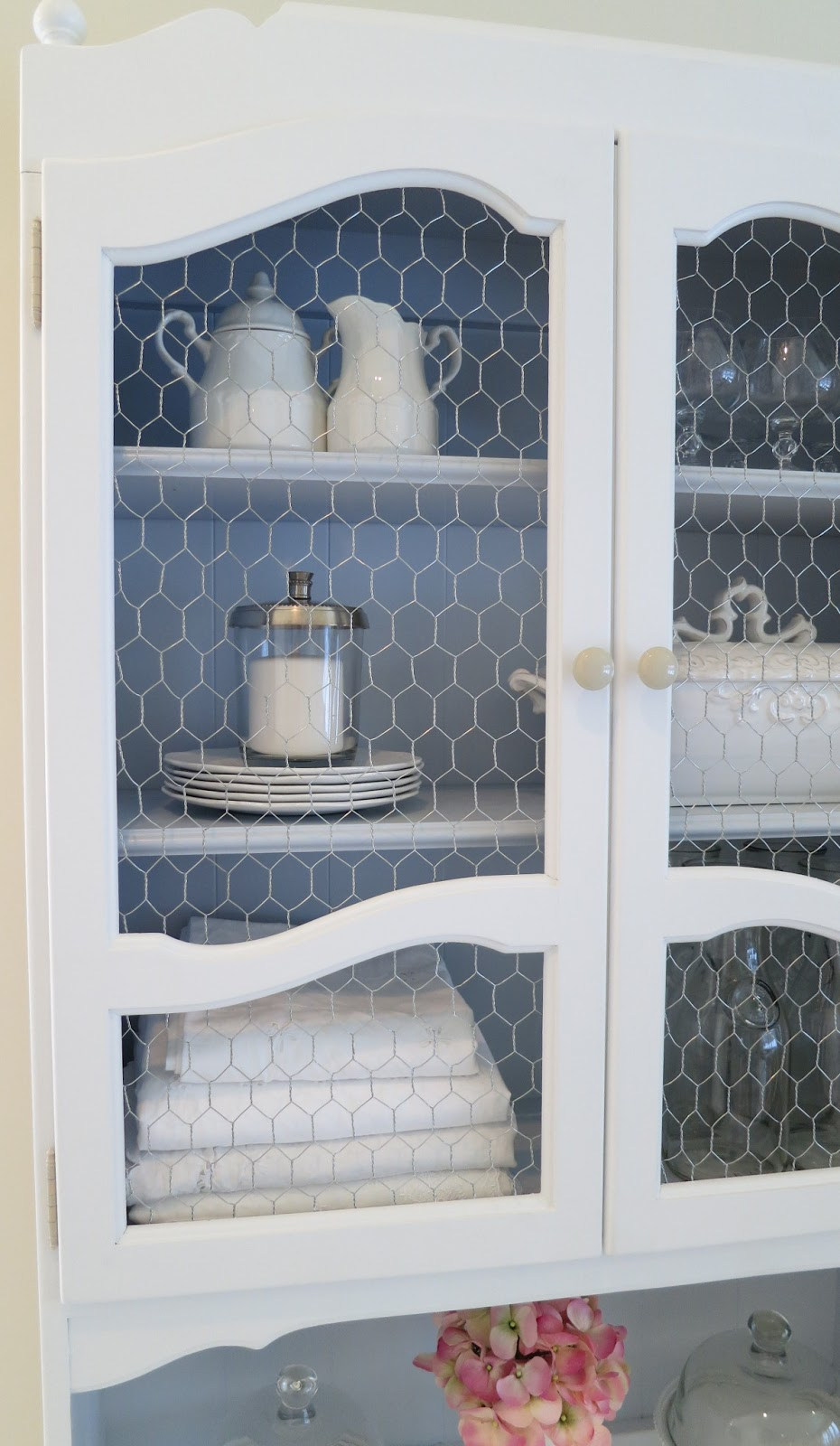 Perfect Chicken Wire Cabinet Door Ideas Collection - Electrical and ...