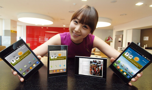 LG OPTIMUS VU New Android Smartphone Mobile Phone Photos, Features Images and Pictures 17