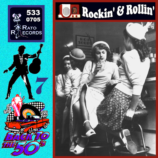 Cd collection Back To The 50's - Rockin' & Rollin' 7 Front%2B07