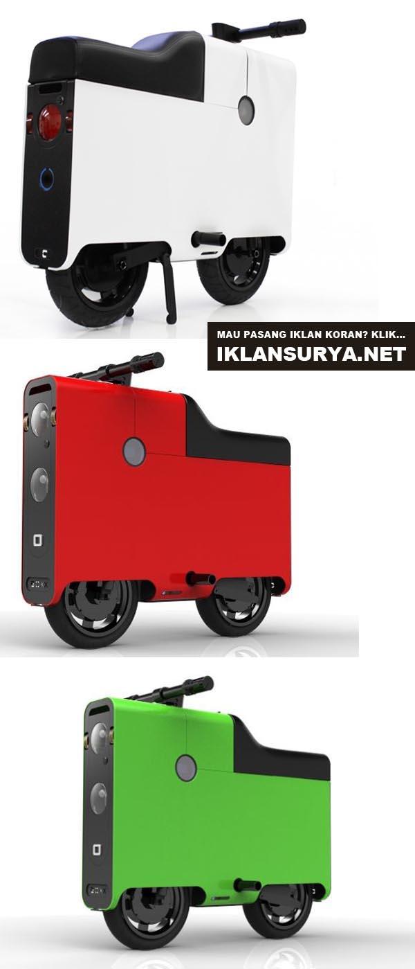 skuter elektrik hemat energi